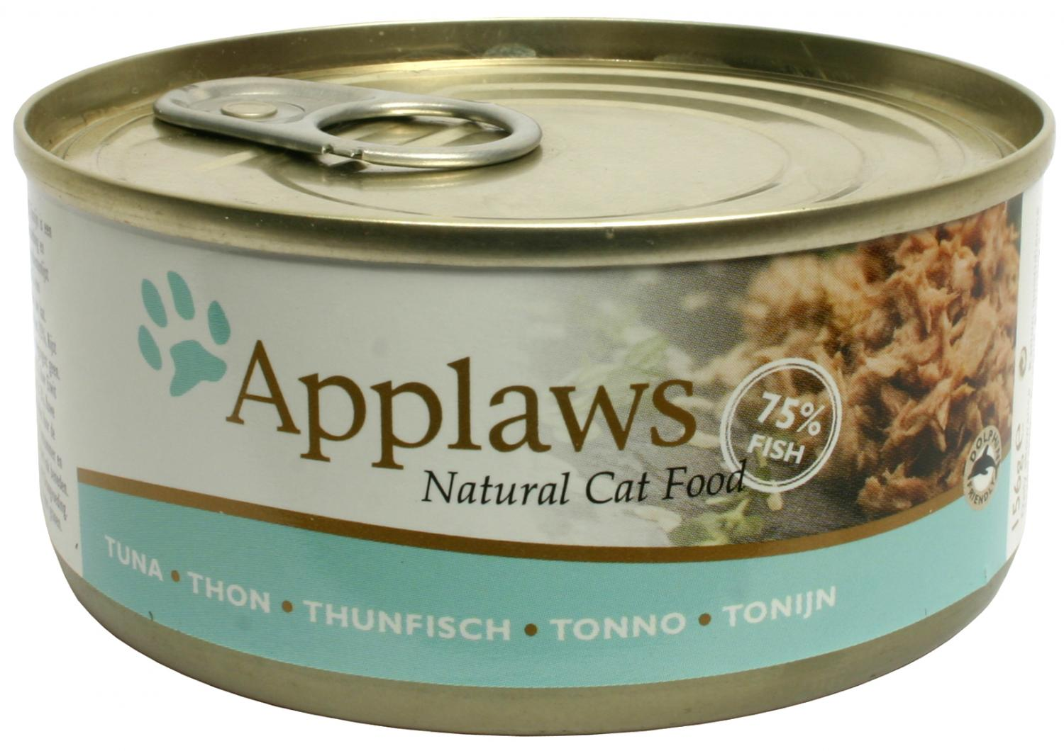 Applaws katt konserv Tuna Fillet 156g