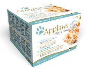Applaws katt konserv Supreme Collection pack 12x70g