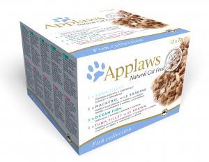 Applaws katt konserv Fish Collection 12x70g