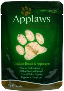 Applaws katt Påse Chicken&Aspargus 70g