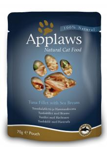 Applaws katt Påse Tuna&Seabream 70g