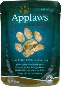 Applaws katt Påse Tuna&Anchovy 70g