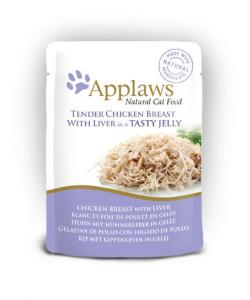 Applaws katt Påse Kyckling + Lever Gelé 70g