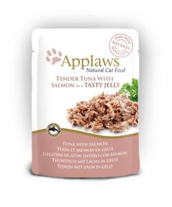 Applaws katt Påse Tuna+Salmon Gelé 70g