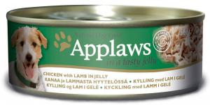 Applaws hund konserv Gelé Kyckling+Lamm 156g
